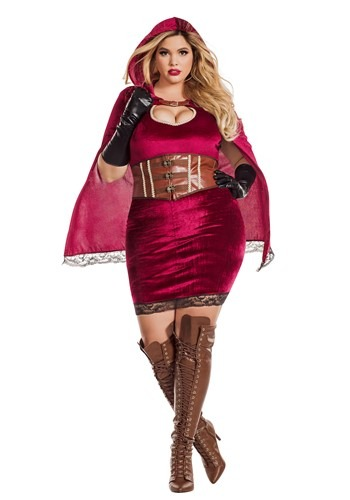 Women's Sexy Red Riding Hood Plus Costume