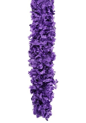 "Dark Purple 170 Gram 72"" Featherless Boa"
