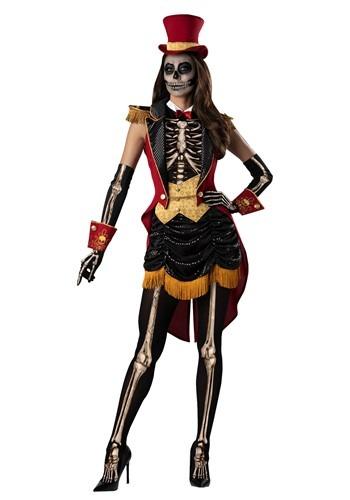 Women's Skeleton Ringmistress Costume