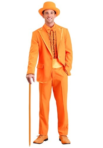 Orange Tuxedo Plus Size Costume