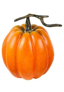 "Orange 7.5"" Tall Pumpkin Decoration"