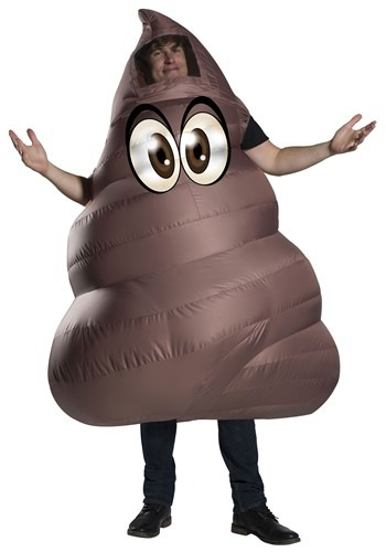 Adult Inflatable Poop Costume