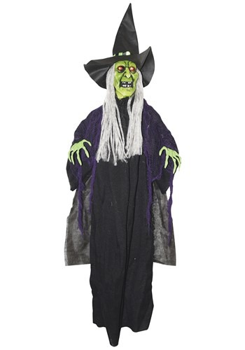 Animated Hanging Witch Prop
