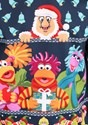 Fraggle Rock Sublimated Adult Ugly Christmas Sweater alt5