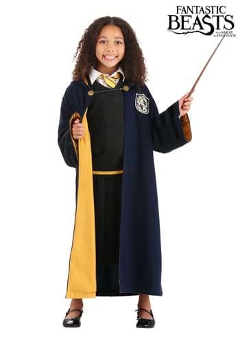 Child Vintage Hogwarts Hufflepuff Robe