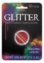 Red Glitter Makeup