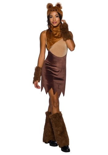 Star Wars Womens Ewok Dress Costume