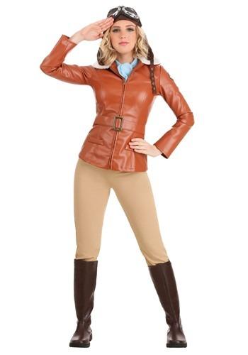 Women's Deluxe Amelia Earhart Costume