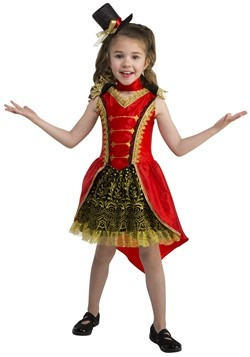 Toddler Circus Girl Ringmaster Costume