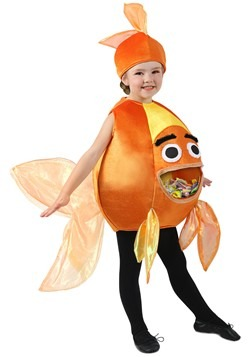 Child Feed Me Beta Fish Costume