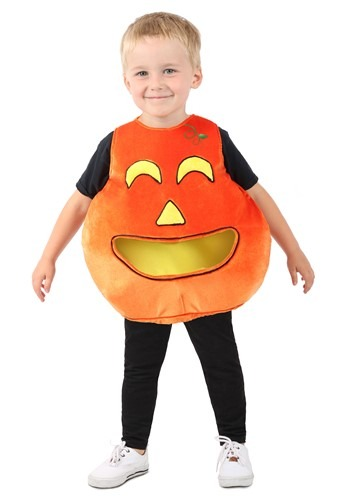 Child Feed Me Pumpkin Costume