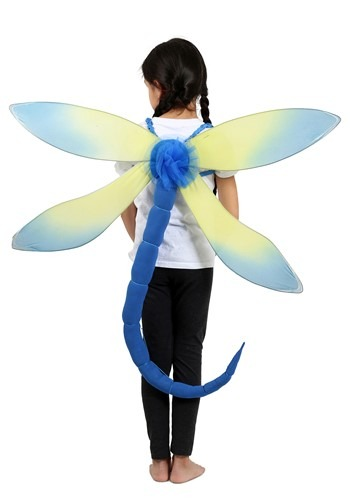 Child Blue Dragonfly Costume