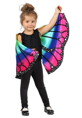 Child Rainbow Butterfly Cape Accessory