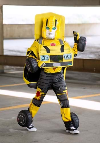 Transformers Child Bumblebee Transforming Costume