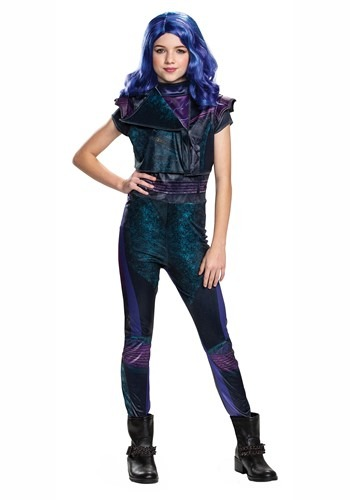 Descendants 3 Girls Mal Classic Costume