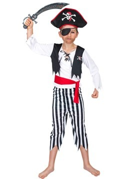 Boy's Buccaneer Pirate Costume