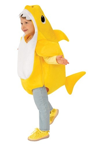 Baby Shark Toddler Costume with Sound Chip