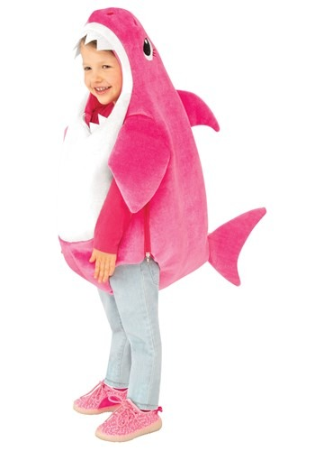 Baby Shark Mommy Shark Toddler Costume with Sound