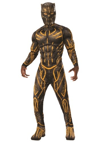 Black Panther Killmonger Battle Suit Deluxe Adult Costume