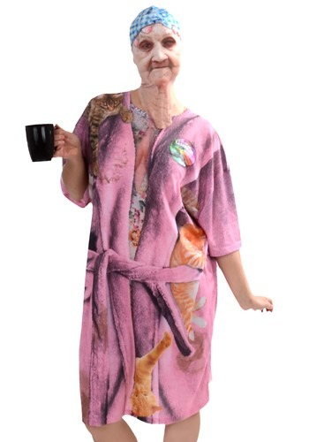 Women's Crazy Cat Lady Costume