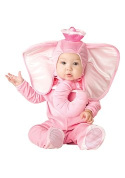 Infant Pink Elephant Costume