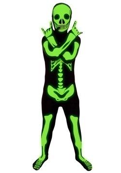 Child Glow Skeleton Costume 1