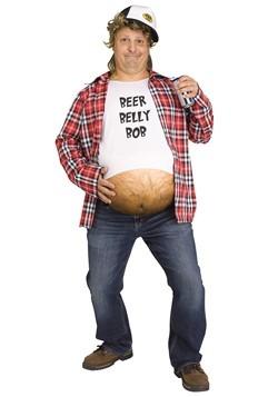Men's Beer Belly Bob Costume