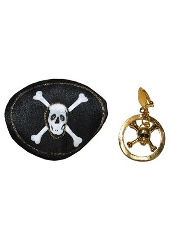 Pirate Eyepatch and Earring