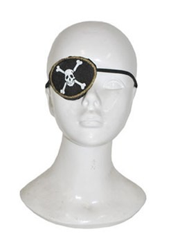 Pirate Skull and Crossbones Eyepatch