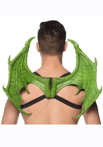 Green Mini Dragon Wings