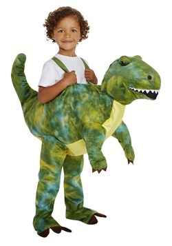 Kids Too Cute T-Rex Ride in Costume