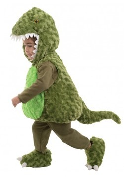 Toddler Green T-Rex Bubble Costume