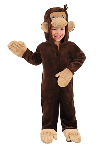 Curious George Deluxe Toddler Costume