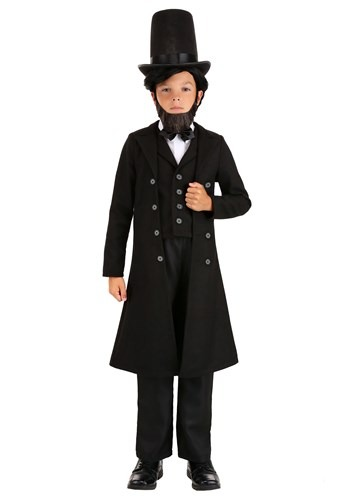 Kid's President Abe Lincoln Costume Updated
