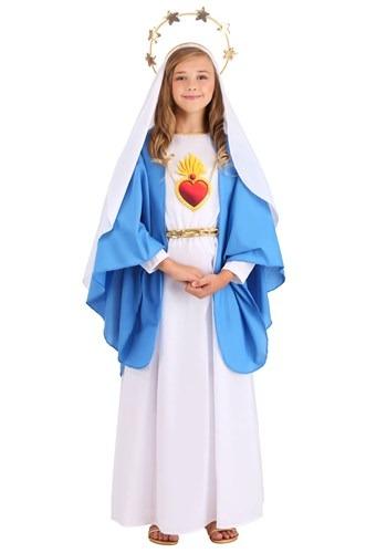 Girl's Nativity Mary Costume