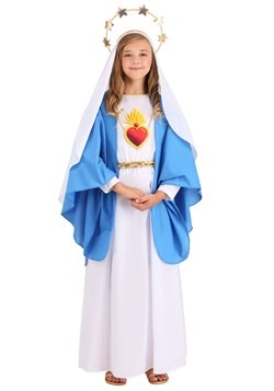 Girl's Nativity Mary Costume