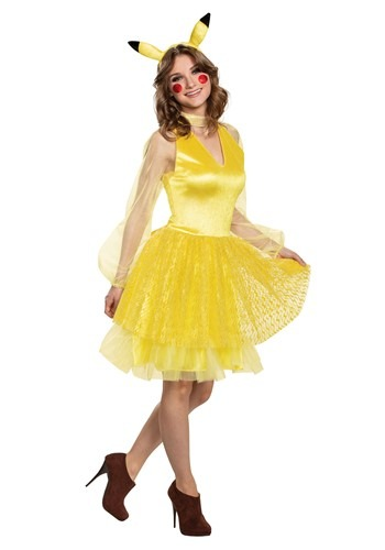 Pokemon Womens Pikachu Deluxe Costume