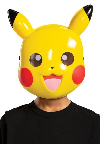 Pokemon Child Pikachu Mask