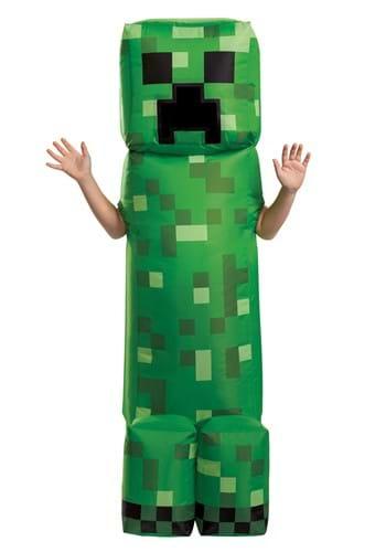 Minecraft Child Creeper Inflatable Costume