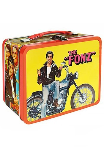 Happy Days The Fonz Tin Tote