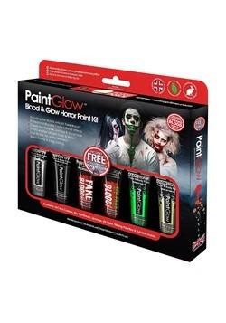 Blood and Glow Halloween Makeup Kit