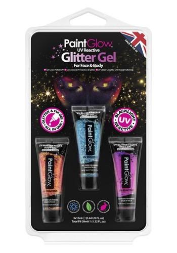 Neon UV Glitter Gel Set