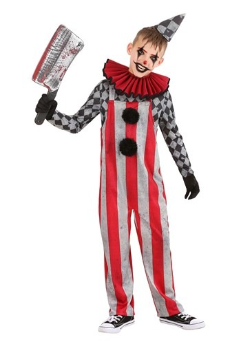 Boys Wicked Circus Clown Costume