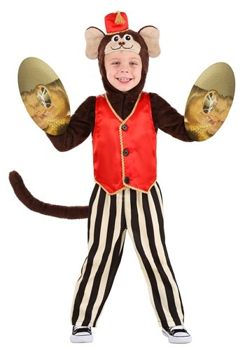 Toddler Circus Monkey Costume