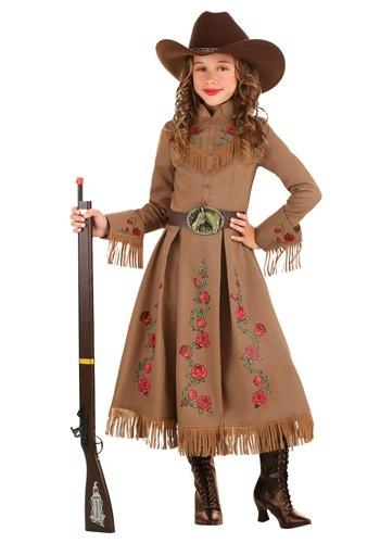 Girl's Annie Oakley Cowgirl Costume