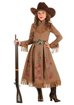 Girl's Annie Oakley Cowgirl Costume