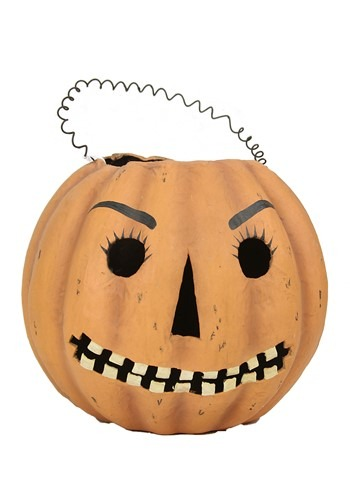 Mr Jack O Lantern Candy Bucket Halloween Decor