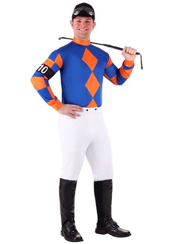 Men's Kentucky Derby Jockey Costume Main