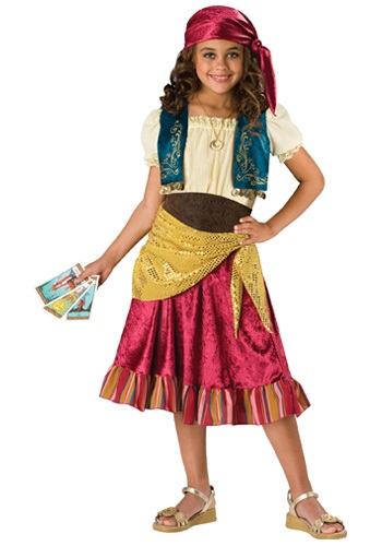 Child Gypsy Girl Costume