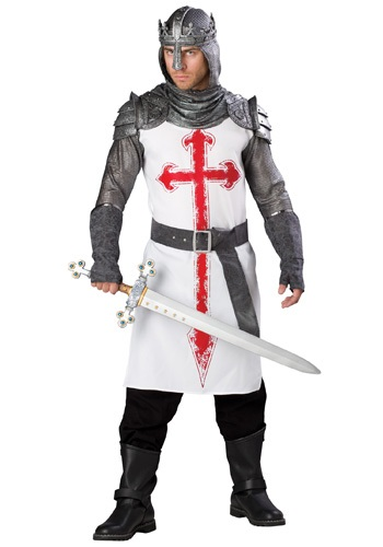 Mens Crusader Knight Costume
